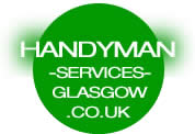 handyman services glasgow logo - go to home page